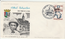 Kaysersberg 1966 - BT Albert Schweitzer Alsace - Gedenkstempel