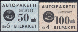 FINLAND - BUS COLIS STAMPS - **MNH - 1950