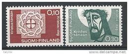 Finlande 1963 N° 554/555 Fédération Lutherienne