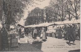 59 - CAMBRAI - MARCHE PLACE AU BOIS - BELLE CARTE - Cambrai