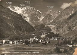MACUGNAGA - FRAZIONE PECETTO - VIAGGIATA 1955 - (rif. M38) - Verbania