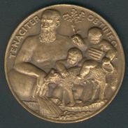 Italien Medaille Von Becker -Studio Numismatico Rom NATALE 1970, D.31,99mm, Vz+ - 1946-… : République