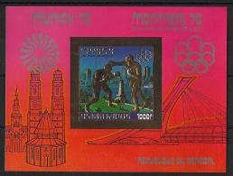 Sénégal - 1976 - Bloc Feuillet N°Yv. 13B - JO Montreal - Non Dentelé / Imperf. - Neuf Luxe ** / MNH / Postfrisch