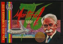Sénégal - 1976 - Bloc Feuillet N°Yv.  12 - JO Montreal - Neuf Luxe ** / MNH / Postfrisch