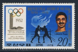Korea North 1978 Mi 1769 ** Laszlo Papp - Gold Medalwinner Boxing - Helsinki 1952 - Olympic Games