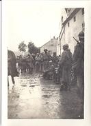 CAMP DES DAMES  Militaires 1916  9X6,5cm - Guerre, Militaire