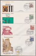 BRD FDC 1964 Nr.454 - 461 Deutsche Bauwerke Aus 12 Jahrhunderten (d 4405 ) - BRD