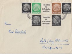DR Brief Zdr. Minr.W92, Einheitsgeberstreifen I Nürnberg 23.5.41 - Deutschland