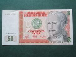 PEROU : NICOLAS DE PERIOLA 50 INTIS - Pérou