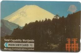 UK (Mercury) - Total Capability Worldwide - 20MERB (White Stripe) - MER129 - 5.269ex, Used - Reino Unido