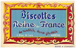 B Am/ Biscottes Reine De France Amien - Biscottes