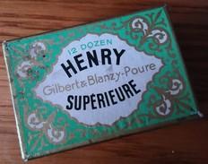 Boîte De Plumes GILBERT & BLANZY-POURE - Vulpen