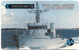 UK (Paytelco) - Royal Naval Reserve In N.W. - 1PTAC - PYTA003 - 27.000ex, Used - United Kingdom