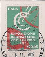 2016 Italien Mi. 3951 Used  Internationale Ausstellung Für Fahr- Und Motorräder EICMA, Mailand - 2011-...: Usati