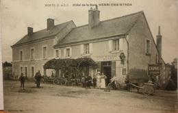 CPA-248 - MONTS - HOTEL DE LA GARE - HENRI CHAINTRON - Autres Communes