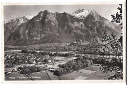 TRÜBBACH: Foto-AK 1957 In Die USA - SG St. Gall