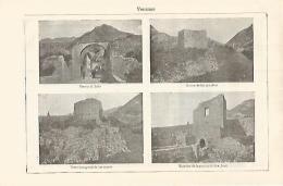 LAMINA ESPASA 17534:  Vistas De Venzone Italia - Altre Collezioni