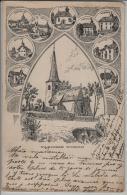 Paroisse D'Oron - Chesalles, Chateau, Bussigny, Essertes - Künstlerkarte A. Rieben - VD Vaud