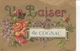 CPA  - Cognac  - Un Baiser De Cognac -  Edition  - N°8010    - Circulée  - - Cognac