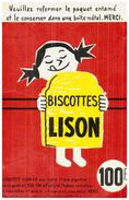 B L/ Biscottes  Lison     N=1 - Zwieback