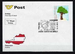 ÖSTERREICH - FDC Mi-Nr. 3080 Jugend - Schützt Die Umwelt - FDC