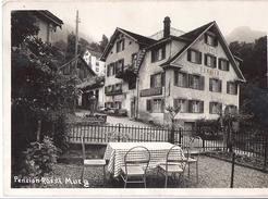 MURG: Pension Rössli, Foto-AK 1949 - SG St. Gall
