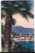 ASCONA: Palme Mit Dorf Am See 1931 - TI Tessin