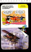 Fiche Humour Aviation Avion Latécoère De Jean Mermoz Et Collenot Dans Les Andes Aviateur /  IM 01/D4 - Old Paper