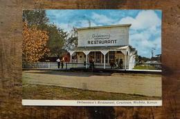 ETATS UNIS, KANSAS, WICHITA, COWTOWN, DELMONICO'S RESTAURANT + TIMBRES - Wichita