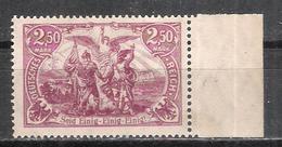 """Reich Variété Du N° 115 Neuf **  Michel 115c Signé """" Infla Berlin """" Au Dos - Allemagne"""