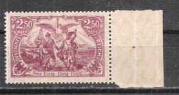 """Reich Variété Du N° 115 Neuf **  Michel 115d Signé """" Infla Berlin """" Au Dos - Allemagne"""