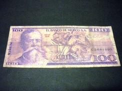 MEXIQUE 100 Pesos 17/05/1979, Pick N° 68 B Ou C ,MEXICO - Mexique