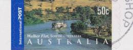 2002. AUSTRALIAN DECIMAL. Geography & Meteorology. (Seas, Lakes & Rivers). 50c. Panorama - Walker Flat.  P&S. CTO. - 2000-09 Elizabeth II