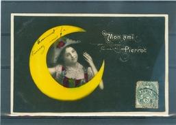 Lune - Moon - Mond - Colombine - TBE - Fantaisies