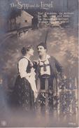 AK Der Sepp Und Die Liesel - Gedicht - 1918 (26687) - Paare