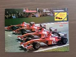 Cartolina Ufficiale Club Delle Rosse Annullo Ferrari Campione Del Mondo 2002 Vignola (MO) 30-11-2002 - Grand Prix / F1