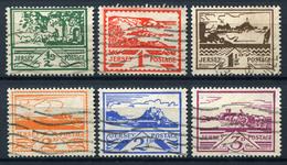 99426) DT.BESETZUNG Jersey # 3-8 Gestempelt Aus 1941, 60.- € - Besetzungen 1938-45