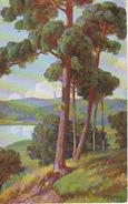 AK Künstlerkarte - Wald Am Wasser - 1935 (26689) - Künstlerkarten