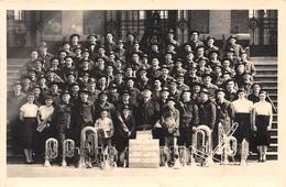 Photographie (format CPA)  - BRUAY EN ARTOIS - Fanfare Du Commerce - Fosse 3 Des Mines - Division Excellence - Photographs