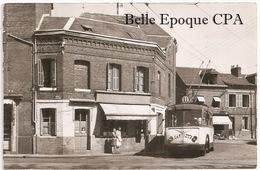 76 - MONT-SAINT-AIGNAN - Route De Maromme - TRAMWAY ++++++++ 1955 +++++ CARTE-PHOTO - Mont Saint Aignan