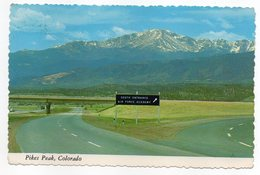 Etats-Unis--CO--PIKES PEAK--1976-- Cpsm 15 X 10   éd  G.R  Dickson Co - Etats-Unis