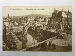 CPA (14) Calvados - HONFLEUR - La Lieutenance Et Le Port - Honfleur