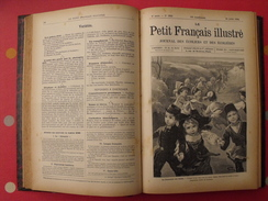 Le Petit Français Illustré. Reliure 1894-1895, N° 267 à 318 (52 N°). Belles Illustrations. Savant Cosinus Christophe - Magazines Et Périodiques
