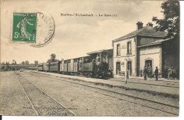 03 - BOURBON-l'ARCHAMBAULT  -  La Gare (2) - Bourbon L'Archambault