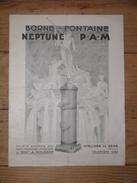 89 - Sens - Yonne - Société Anonyme Des Hauts Fourneaux Et Fonderies De Pont-à-Mousson - 1937 - Borne Fontaine Neptune - Francia