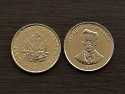 Haiti 5 Centimes 1995 Km154a UNC, 1PCS - Haïti
