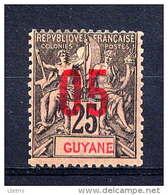 GUYANE - N° 69*  - TYPE GROUPE