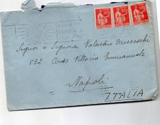 1937 LETTERA CON ANNULLO PARIS - Francia