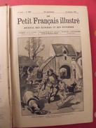 Le Petit Français Illustré. Reliure 1897, N° 406 à 457 (52 N°). Belles Illustrations. Plick Plock Christophe - Magazines Et Périodiques