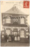 76 - VATTEVILLE-la-RUE - Recette Buraliste +++++ Édit. Henri Taboul, Yvetot ++++ 1916 +++++ RARE - Sonstige Gemeinden